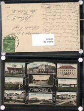 117639,seltene AK Marchegg Schule Platz Fabrik Strasse Gasthaus 1910