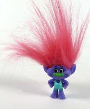 Dreamworks Trolls Series 7 Pink Hair Purple Troll Figure New