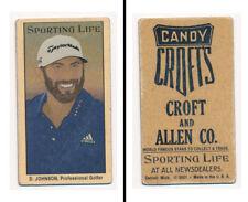 "New listing SPORTING LIFE ""T-SIZE SERIES 4""- Dustin Johnson, Pro Golf Star!"