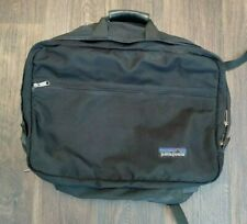 Patagonia Polyester Duffle Backpack Stow Away Straps Black