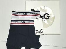 D&G New Boys Toddler 2pc ITALIAN UNDERWEAR BOXER GIFT SET: Sz: 2 RTL: $70 Q649