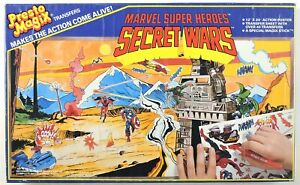 S800. MARVEL SUPER HEROES SECRET WARS Presto Magix Transfers (1984) COMPLETE