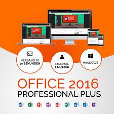 MS Microsoft Office 2016 Professional Plus Vollversion Original Business Pro