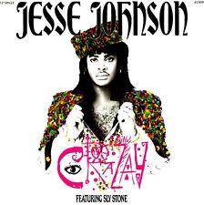"""12"""" - Jesse Johnson Feat. Sly Stone - Crazay (FUNK) EDIT. IN SPAIN 1986, MINT"""