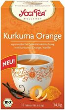 Yogi Tea Kurkuma Orange Bio Kräutertee 17 Beutel à 2 g