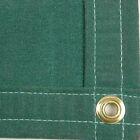 Sigman 6' x 8' Heavy Duty Cotton Canvas Tarp 18 OZ - Green - Made in USA - New