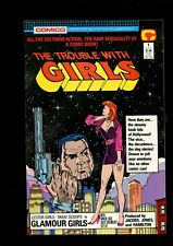 THE TROUBLE WITH GIRLS 1 (9.4) COMICO (B038)