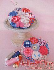 Nellies Pins PINCUSHION - Sewing Craft A6 Creative Card PATTERN - Doll Felt
