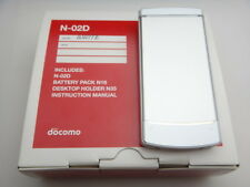 docomo NEC N-02D CELL PHONE GSM SOFTWARE UNLOCKED JAPANESE FLIP WHITE NEW IN BOX