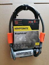Kryptonite Kryptolok Mini U-Lock With 4' Flex Cable and Flexframe Bracket