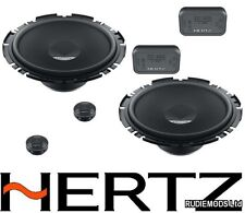 "Herts Dieci DSK 170.3 17cm 6.5"" Slim Fit Car 2 Way Component Speakers"