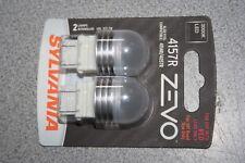 Sylvania ZEVO LED 4157R Pair Set LED Lamps Bulbs 4114R/4057R NEW