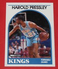 # 24 HAROLD PRESSLEY KINGS SACRAMENTO 1989 NBA HOOPS BASKETBALL CARD