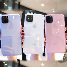 Clear Case For iPhone XR 11 Pro Max X XS 6 6s 8 7 Plus SE 2020 Shockproof Cover