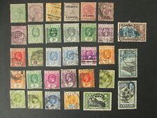 CEYLON 32 old stamps