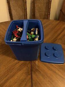 lego lot in lego bucket  5.7 lbs