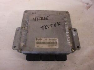 Calculateur Bosch trafic 1.9 dci  0281010632 / 8200118526 vierge (réf 5148)