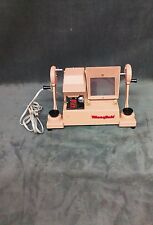 Vintage tan Mansfield 650 Film Editor 115-120 volt A.C.Or D.C.