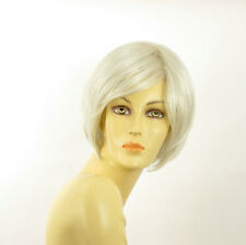 Parrucca donna corta bianco : stone 60