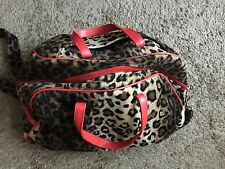Playboy Animal Print Duffel Travel Bag
