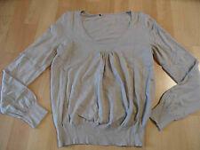 COMMA schöner Pullover in Balonoptik beige Gr. 38? TOP ZT316