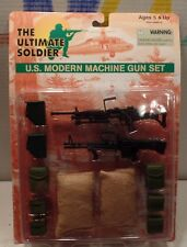 "NEW 12"" Soldier Military Action Figure- 1/6 WEAPONS/GEAR U.S. MODERN MACHINE GUN"