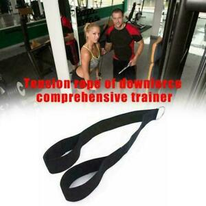Tricep Rope Pull Down Fitness Laterals Biceps Muscle Training Sport Indoor. V1O2