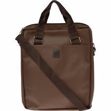 TRUSSARDI Men's Dark Brown Saffiano Leather Messenger Bag