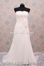 Beading Scoop Neck Column/Sheath Sleeve Wedding Dresses