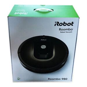 iRobot Roomba 980 (Black / Brown) - Robot Vacuum Cleaner - Hoover