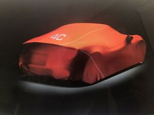 Genuine Alfa Romeo 4C indoor car / dust cover OEM pre-owned  ⚡️ Part# 68261634aa