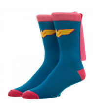 DC Comics Wonder Woman Pink Cape Crew Socks