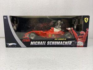 1/18 Mattel Ferari F2001 Michael Schumacher Hungary World Champion  # N2075