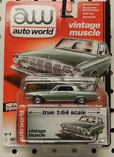 1963 POLARA GREEN LIGHT  # 1 4 DODGE BOYS MOPAR 2DR 63 REBELLION AW AUTO WORLD