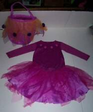 POTTERY BARN KIDS Purple Butterfly Costume Set with Treat Bag 12-24 mo