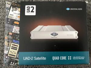 UAD-2-SATELLITE-QUAD (firewire) + Stock Plugins