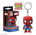 Portachiavi Spider-Man Marvel Pocket Pop! Vinyl KeyChain Funko