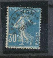 FRANCE Préo N°60 30c bleu N* signé CALVES Cote 250€ P2138