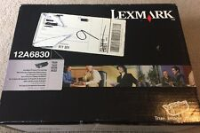 New ! Genuine  Lexmark T520 T522 X520 X522  Toner cartridge 12A6830 Sealed