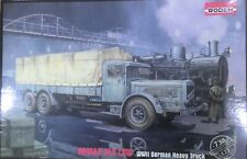 Roden 1/72 - German WW2 Vomag 8LR Heavy Truck  -Model Kit
