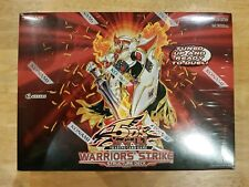NEW SEALED YuGiOh Warriors' Strike Structure Deck English 1st Edition BOX