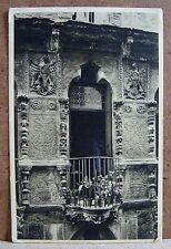 Vicenza - Una finestra della casa Pigafetta ora Fasolo[piccola, b/n, non viagg.]