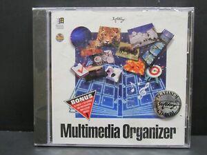 Multimedia Organizer, PC, CD-ROM Windows 3.1+, DOS 5.0, Softkey,1995, New Sealed