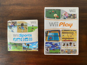 Wii Sports (Nintendo Wii, 2006) And Wii Play Tested & Working