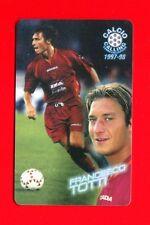 CALCIO CALLING 1997-98 Panini 1997 - Card n. 50 - TOTTI - ROMA -New