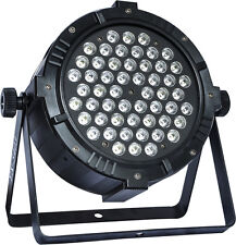 Promotional 54x3W RGBW LED par light for event disco stage party strobe dj bar