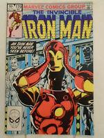 Iron Man #170, VF/NM 9.0, 1st Full Appearance Jim Rhodes as Iron Man