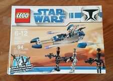 LEGO Star Wars Assassin Droids Battle Pack 8015 in original box, sealed bags