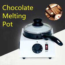 Electric Chocolate Single Melting Pot Fondue Melter Kitchen Tool Furnace Machine