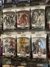Marvel Legends Series Complete Set of 6, BAF Monster Venom, Brand New